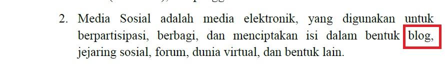 Fatwa MUI : Blog Termasuk Media Sosial