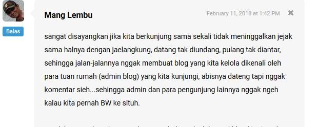 Menikmati Menjadi Blogger Jelangkung