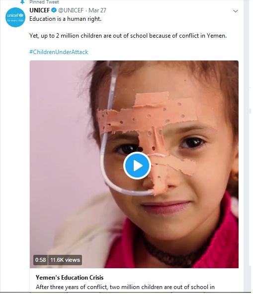 [Bersyukurlah Masih Bisa Ngeblog DenganTenang] Dua Juta Anak di Yaman Tidak Bersekolah