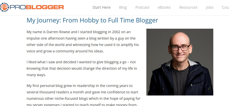 Belajar Dari Perjalanan Awal Darren Rowse - Problogger