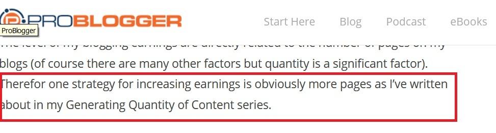 Semakin Banyak Artikel Semakin Tinggi Pendapatan