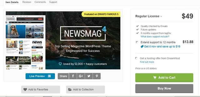 Newsmag dan Newspaper ; Dua Theme Keren Dari TagDiv