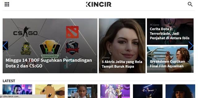 Pernah Lihat Website Punya Giring Nidji - Kincir(dot)com
