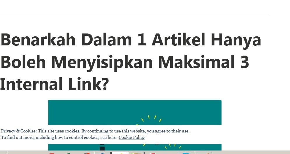 Benarkah Memasang 3 Internal Link Berbahaya Untuk Blog?