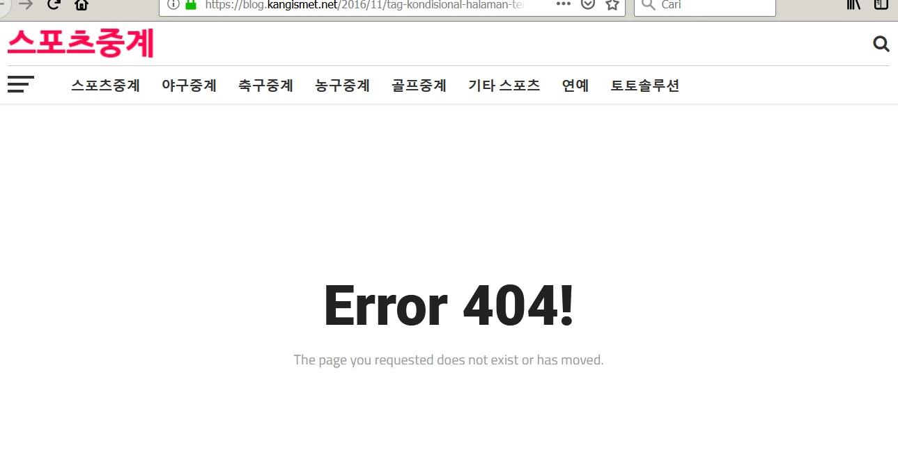 Blog Kang Ismet Rupanya Juga Sudah Tiada