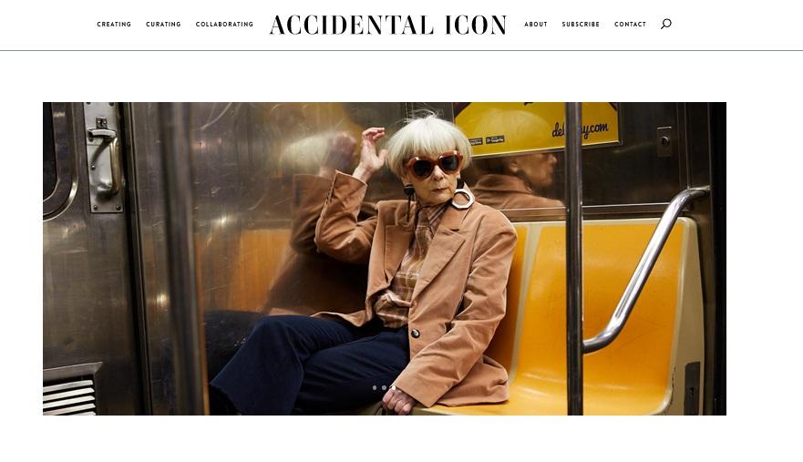 Accidental Icon - Fashion Blogging Untuk Semua Termasuk Orang Tua Dan Profesor