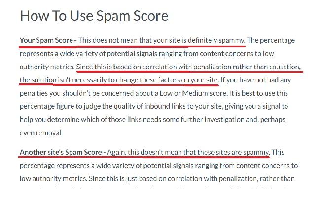 MOZ Spam Score Tinggi ? Perlukah Khawatir ?
