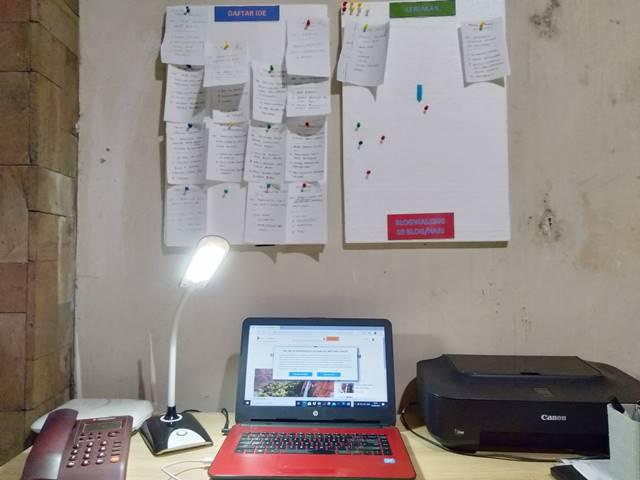 PAPAN IDE : Meredam Spontanitas Menetapkan Alur Kerja