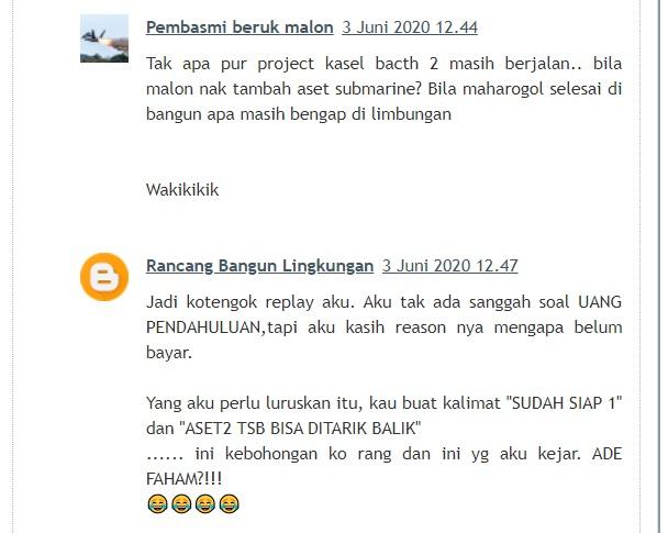 Perseteruan Indonesia-Malaysia Terbawa Ke Kolom Komentar Blog