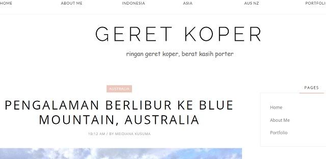 [Info Blog] GERET KOPER