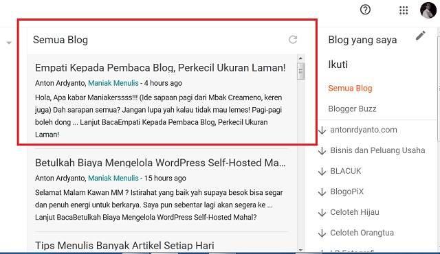 [SOLVED] Masalah Post Baru Di WordPress Tidak Muncul Di Daftar Bacaan Blogspot