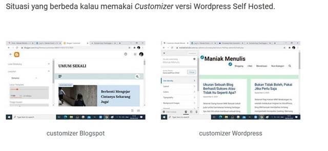 Cara Pemasangan Featured Image Di Blogspot Dan WordPress Berbeda