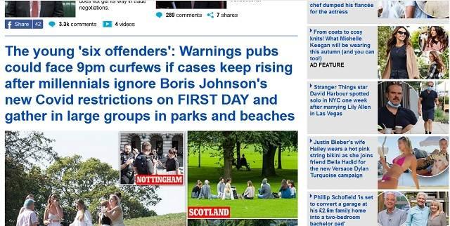 Ketika Judul Sudah Bercerita Banyak - Daily Mail
