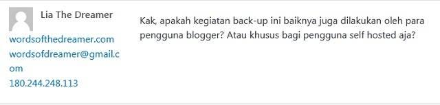 Melakukan Backup Blog Sebaiknya Dilakukan Semua Blogger!