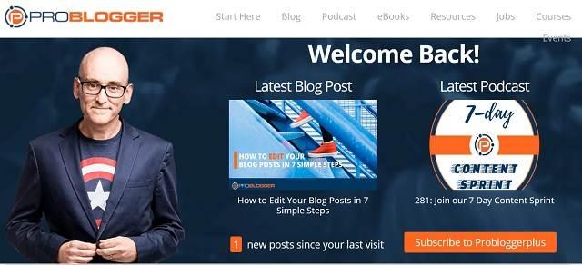 Pelajaran Dari Problogger - Darren Rowse blog 40K