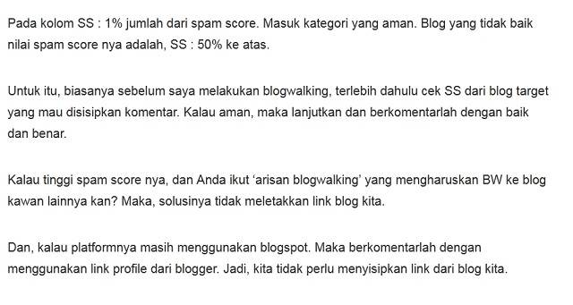 Siapa Penyebar Mitos Spam Score Menular - Blogger Juga